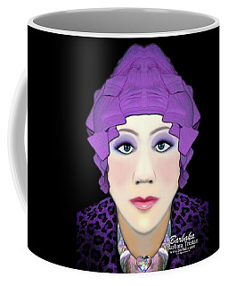 Coffee Mug featuring the photograph Silly Headdress by Barbara Tristan