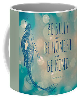 Silly Honest Kind Mermaid V5 Coffee Mug