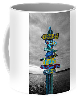 Silly Lily Fishing Station Sign Coffee Mug