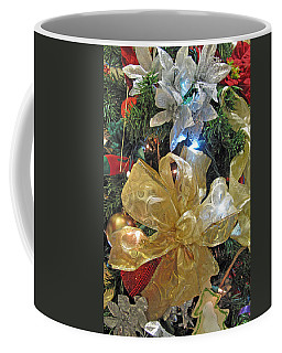 Silver And Gold Coffee Mug by Barbara McDevitt