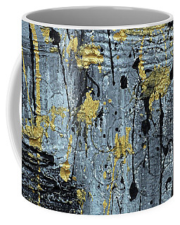 Silver And Gold  Coffee Mug by Cathy Beharriell