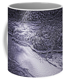 Silver Brook In Winter Coffee Mug