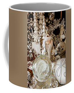 Coffee Mug featuring the photograph Silver Christmas by KG Thienemann