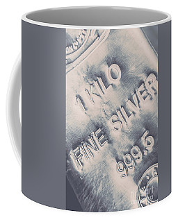 Silver Commodities Coffee Mug