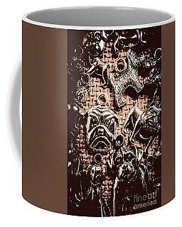 Silver Dog Show Coffee Mug