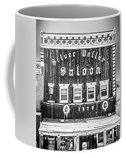 Coffee Mug featuring the photograph Silver Dollar 3 by Marilyn Hunt
