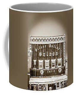 Coffee Mug featuring the photograph Silver Dollar Saloon 2 by Marilyn Hunt