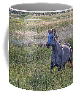 Silver Dun Coffee Mug by Alana Thrower