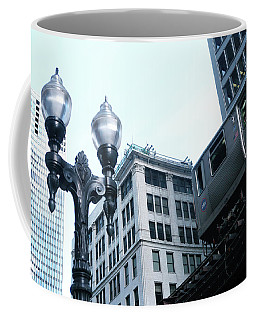 Silver El - Chicago Coffee Mug
