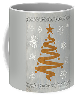 Silver Gold Tree Coffee Mug