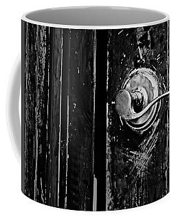 Silver Handle Coffee Mug