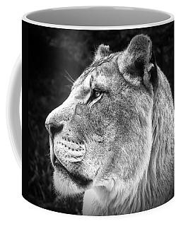 Silver Lioness  Coffee Mug