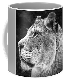 Silver Lioness - Squareformat Coffee Mug