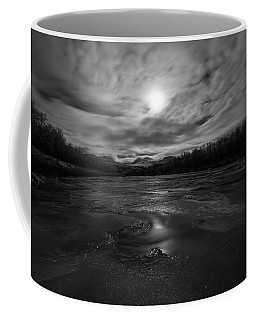 Coffee Mug featuring the photograph Silver Midnight by Alex Lapidus