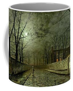 Silver Moonlight Coffee Mug