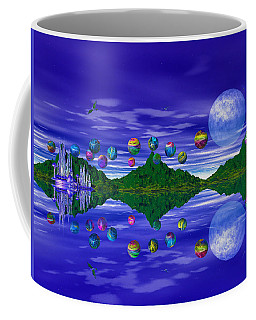 Silver Palace Coffee Mug by Mark Blauhoefer