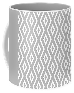Silver Pattern Coffee Mug