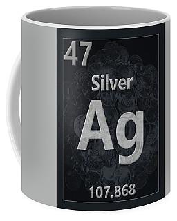 Silver Periodic Table Coffee Mug