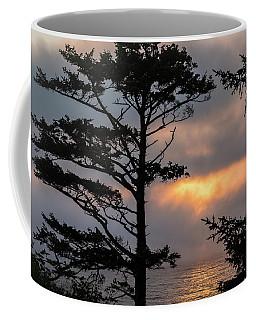Silver Point Silhouette Coffee Mug