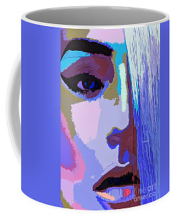 Coffee Mug featuring the digital art Silver Queen by Rafael Salazar