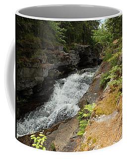 Silver Ripple Cascade Coffee Mug by Catherine Gagne