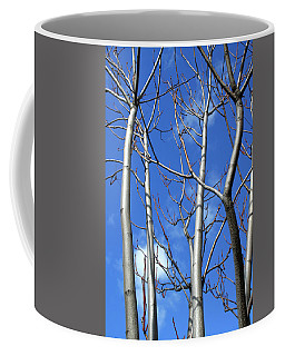 Silver Smooth Coffee Mug