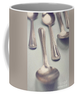 Coffee Mug featuring the photograph Silver Spoons by Lyn Randle