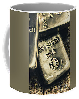 Silver Stackers Artwork Coffee Mug