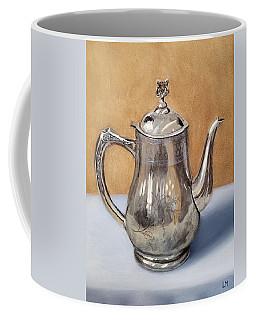 Silver Teapot Coffee Mug