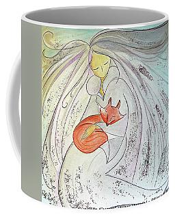 Silver Threads Coffee Mug by Gioia Albano