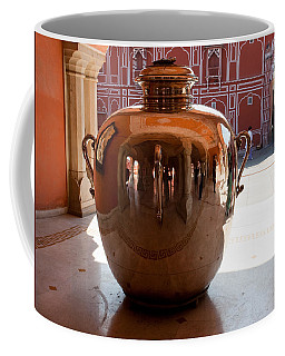 Silver Water Urn Jaipur Coffee Mug