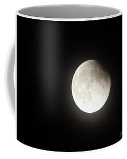 Silver White Eclipse Coffee Mug