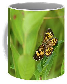 Silvery Checkerspot Butterfly Coffee Mug