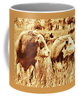 Simmental Bull 3 Coffee Mug by Larry Campbell