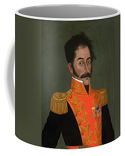 Simon Bolivar Painting - Jose Gil De Castro Coffee Mug