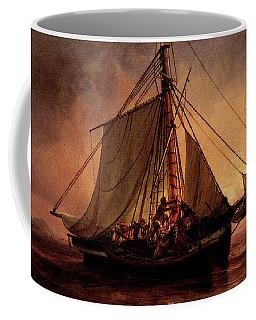 Simonsen Niels Arab Pirate Attack Coffee Mug by Niels Simonsen
