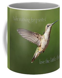 Simple Country Truths Hummingbird Coffee Mug