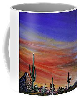 Simple Desert Sunset One Coffee Mug