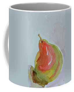 Coffee Mug featuring the painting Simple Pear by Beverley Harper Tinsley