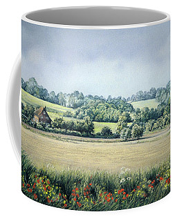 Simple Pleasures Coffee Mug by Rosemary Colyer