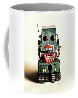 Simple Robot From 1960 Coffee Mug