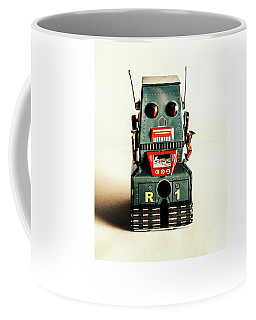 Simple Robot From 1960 Coffee Mug