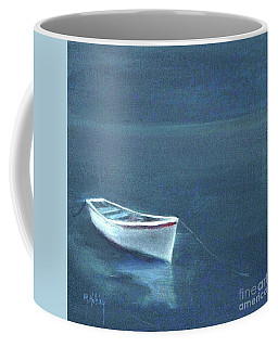 Simple Serenity - Lone Boat Coffee Mug