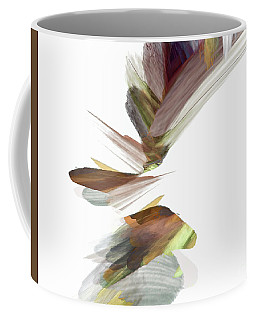 Coffee Mug featuring the digital art Simple Strokes by Margie Chapman