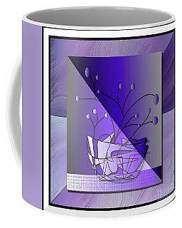 Coffee Mug featuring the digital art Simplicity #8 by Iris Gelbart