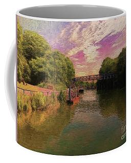 Coffee Mug featuring the photograph Simply Idyllic by Leigh Kemp