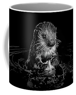 Simply Otter Coffee Mug by Alice Cahill