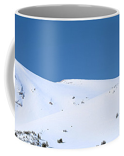 Coffee Mug featuring the photograph Simply Winter by Juli Scalzi
