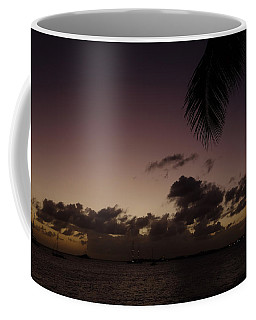 Simpson Bay Purple Sunset Saint Martin Caribbean Coffee Mug