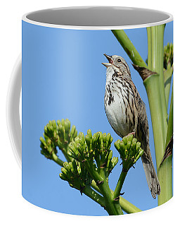 Sing A Song Coffee Mug by Fraida Gutovich